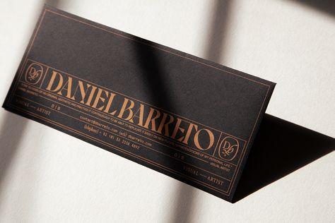 Daniel Barreto Visual Identity