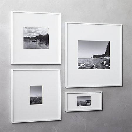 Gallery White 11 X14 Picture Frame Cb2 White Picture Frames Photo Frame Wall Unique Picture Frames