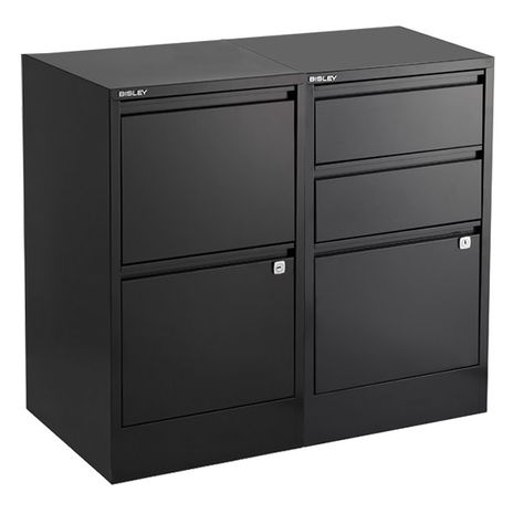Bisley Black 2 3 Drawer Locking Filing Cabinets Filing Cabinets Redone Filing Cabinet Cabinet 3 Drawer File Cabinet