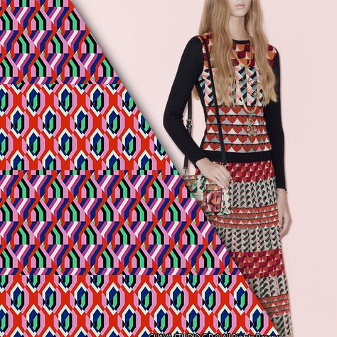 Guäva Print / Red by Valentino (image from style.com)