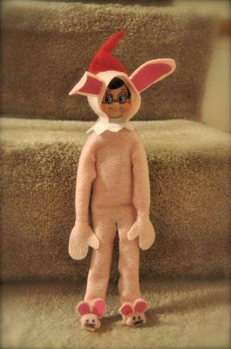 Ralphie's elf elf on the shelf.The Elf is creepy but The Christmas Story is awesome!