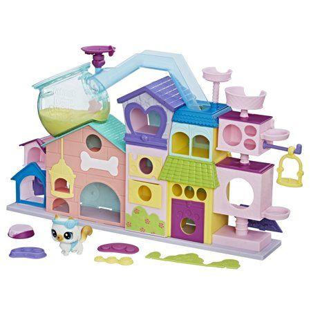 Littlest Pet Shop Petultimate Apartments Walmart Com In 2020 Little Pet Shop Little Pet Shop Toys Pet Shop
