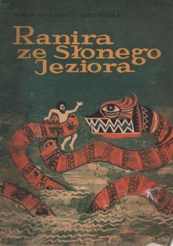 Okladka Ksiazki Ranira Ze Slonego Jeziora Comic Book Cover Books Retro