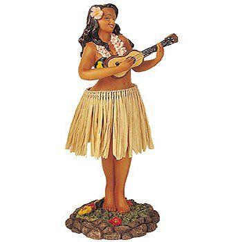 Wiggling Dashboard Hula Girl