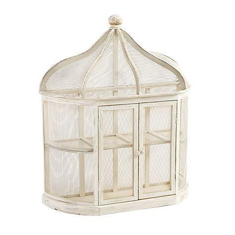 Aviary Birdcage Decorative Shelf Bird Cage Decor Shelf Decor