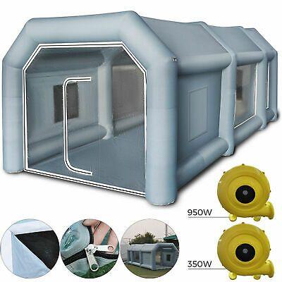 Cabine De Peinture Gonflable Geant Tente Pour Pulverisation Voiture 8x4x3m Neuf Tente Gonflable Cabine De Peinture Gonflable