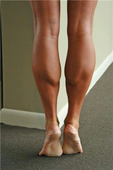 parts of the body calves