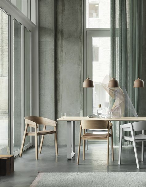 Muuto Cover Chair - oak | Dining | Mesas de madera modernas, Mesas ...