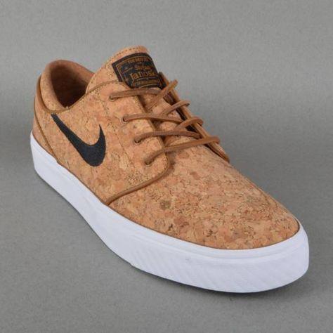 Nike SB Zoom Stefan Janoski Elite Skate Shoes Ale Brown