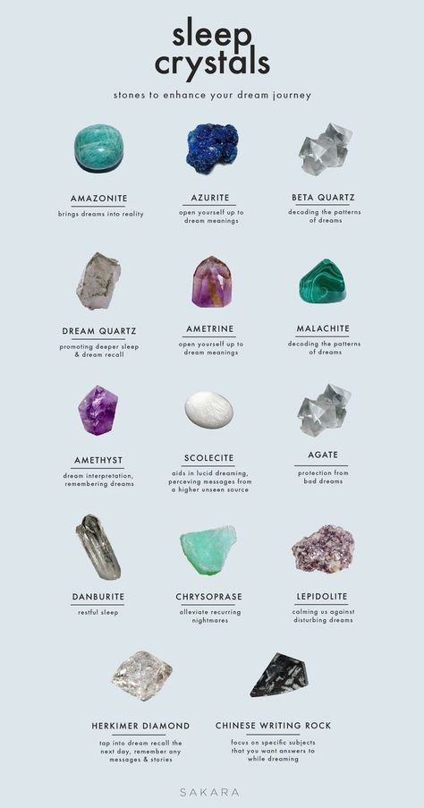 A Crystal Guide: Stones for Sweet Dreams - Trend Lilie Tattoo 2019 Chakra Crystals, Crystals And Gemstones, Stones And Crystals, Healing Gemstones, Chakra Stones, Gem Stones, Wicca Crystals, Crystal Guide, Crystal Magic