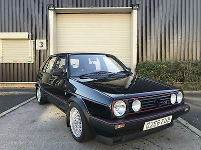 Ebay G 1989 Volkswagen Golf 1 8 Gti 5 Door 8v Small Bumper