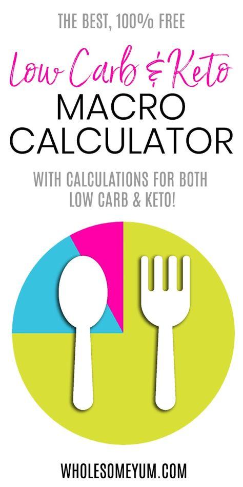 Calcular macros para la dieta cetosis