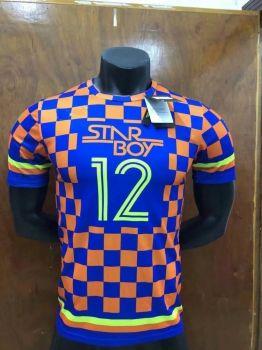 info for ca395 59d8c 2018 Cheap Jersey Nigeria World Cup Orange Replica Soccer ...