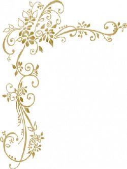 Foto # 450924 - molduras para convites de casamento com arabescos