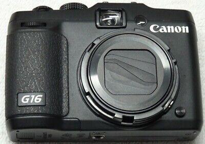 Canon Powershot G16 12 1 Mp Cmos Digital Camera With 5x Digital Camera Digital Camera Case Powershot