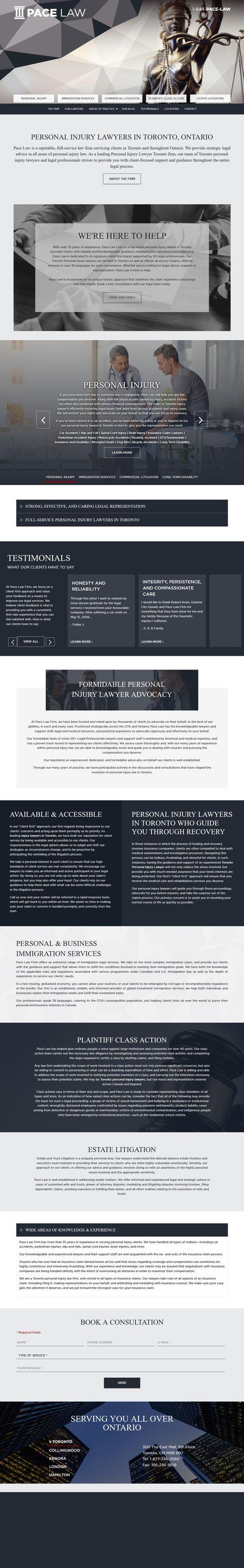 Personal Injury Lawyers Toronto | Ontario's Top-Rated Personal Injury Lawyer
