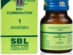 Bio- Combination , Anaemia , SBL World class homeopathy