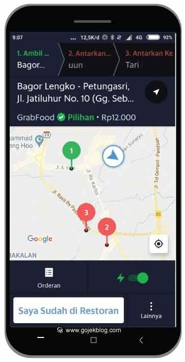 7 Cara Menjalankan Order Gabungan Grabfood Aplikasi Inovasi Uang