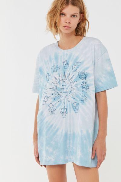 Project Social T Zodiac Tie Dye T Shirt Dress Tie Dye T Shirts Dye T Shirt Tie Dye