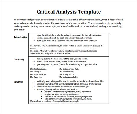 Sle Critical Essay How To Write A Critical Essay Sle Essay Tips