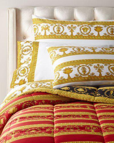 Barocco Robe King Comforter Printed Pillowcases King
