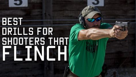 In this video I want to cover a couple simple training drills. First will help you determine if a student has a flinch. The second drill will help you break . Shooting Gear, Shooting Range, Shooting Sport, Survivor Quotes, Hunting Blinds, Firearms, Shotguns, Guns And Ammo, Bad Habits