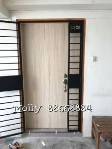 Hdb Fire Rated Main Door At 1299 At Door Factory Price In Singapore By My Digital Lock Mall 88668884 Www Mydigi Bedroom Door Design Digital Lock Door Design