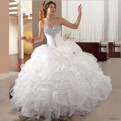 Vestidos De Xv Blancos Vestidos Vestidos Vestidos De