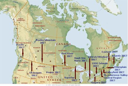 This Is A Map Of All IBET Integrated Border Enforcement Teams - Canada us border crossings map