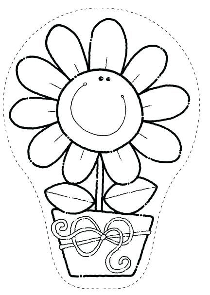 Pagina Para Colorear De Maceta Para Para Para Para Dibujo Para Pintar Macetas Coloring Pages Flower Coloring Pages Felting Projects