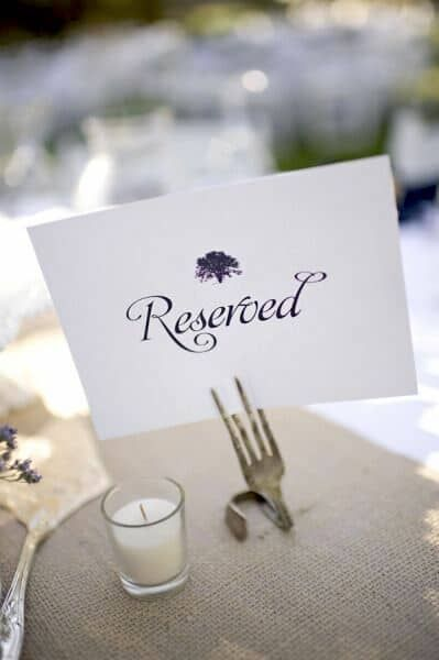 Wedding Table Number Ideas Alternatives You Will Love Wedding