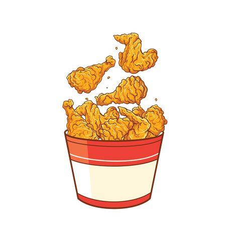 Fried Chicken Sayap Ayam Ayam Ayam Goreng