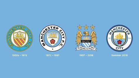 Manchester City Con Nuevo Escudo Logo Manchester City