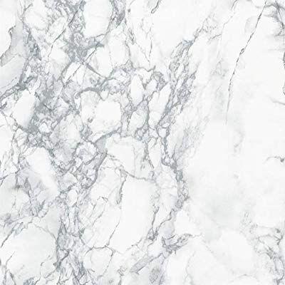 Marble Self Adhesive Paper 16 Inch X 400 Inch Granite Gray White