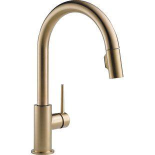 Delta Trinsic Bar Faucet Wayfair Touch Kitchen Faucet Kitchen Faucet Delta Trinsic