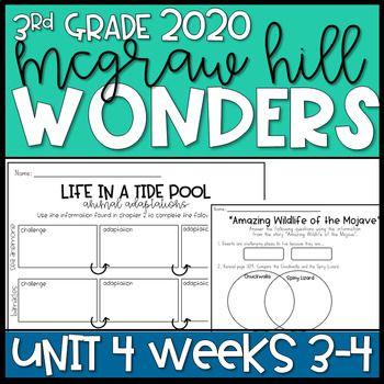 Wonders 2020 3rd Grade Unit 4 Weeks 3 4 Reading Resources Complex Sentences Activities Reading Resources Sentence Activities