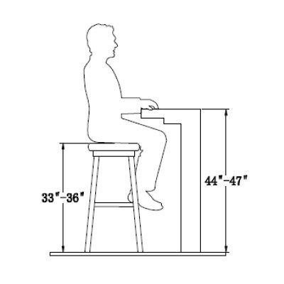 Your Guide To Finding The Perfect Bar Stool Height Overstock Com Stool Height Bar Height Stools Bar Stools