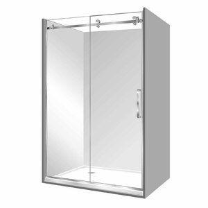 Stellar Luxury 2000 Frameless Shower Silva Alcove Left Hand Fixed 1000 X 1200 X 1000mm Chrome Frameless Shower Shower Alcove Shower Enclosure