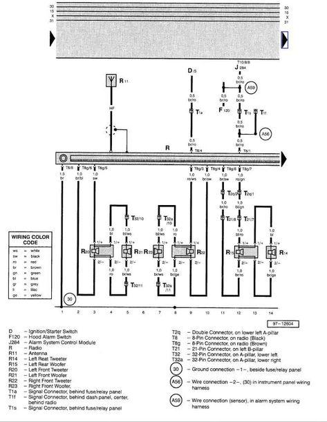 12 2003 Volkswagen Jetta Car Stereo Wiring Diagram Car Diagram Wiringg Net Diagram Vw Jetta Volkswagen Jetta