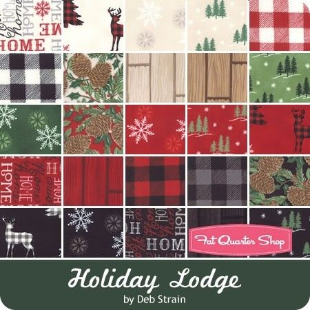 Moda Christmas Fabric 2019.Holiday Lodge By Deb Strain For Moda Fabrics May 2019