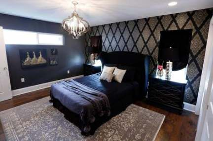 68 Trendy Textured Wallpaper Accent Wall Master Bedrooms Spaces Wall Wallpaper Elegant Bedroom Textured Wallpaper Master Bedroom