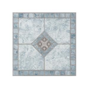 Portfolio Blue Diamond 12 In X 12 In Peel And Stick Vinyl Tile Flooring 9 Sq Ft Case Vinyl Tile Luxury Vinyl Tile Luxury Vinyl