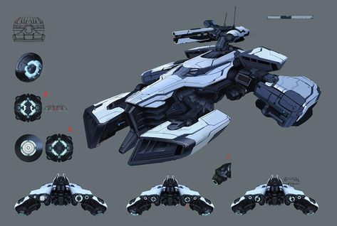 ArapahoConcept 09 13 SD by LyssonAn on DeviantArt Spaceship Art, Spaceship Design, Star Wars Vehicles, Armored Vehicles, Starship Concept, Space Engineers, Sci Fi Ships, Sci Fi Weapons, Concept Ships