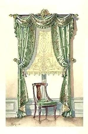 Victorian Window Treatments Swag Curtains Custom Draperies And