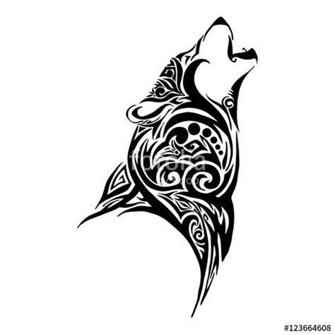 Heulender Wolf Tattoo Ecosia Wolf Und Mond Tattoo Wolf Tattoo Design Wolf Schablone