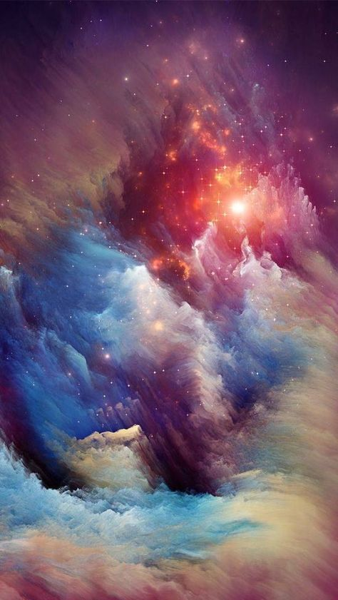 #Nebula #universe This is what is beyond our planet.  <3