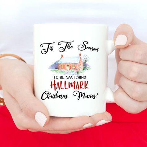 This Is My Hallmark Christmas Movies Watching Mug Funny Christmas Mug Coffee Cups Gift for Family /& Friends Christmas Gifts Coffee Mug bonus A Keychain Pendant /& Greeting Card 11 oz