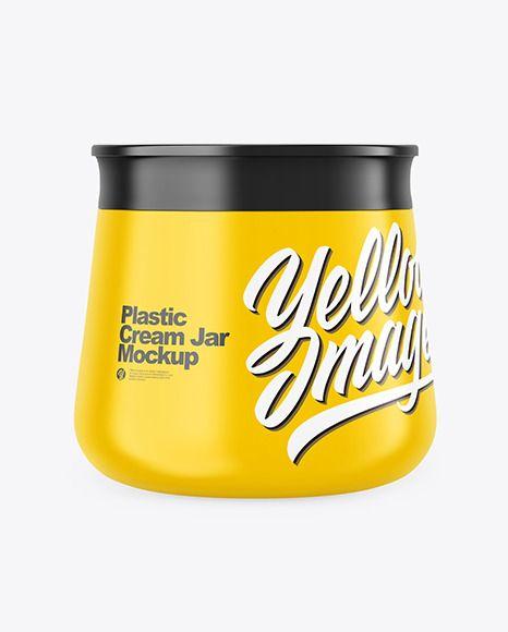 Yellow mockup