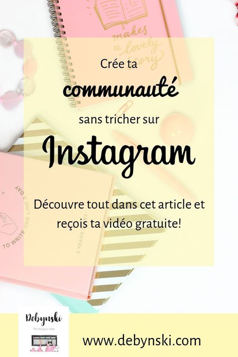 """Crée ta communauté sans tricher avec Instagram!  Tu connais certainement Virginie, IslaGraph, et si tu la suis tu sais qu'elle a atteint les 10.000 abonnés sur Instagram de façon """"clean"""". Toi aussi tu détestes les méthodes douteuses et la triche, et tu souhaites bâtir ta communauté sur Instagram? Cette formation est pour toi! + vidéo offerte  #instatips #instagram #communauté #éthique #instagrow #islagram #islagraph #formation #socialmedia"""