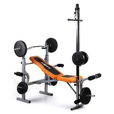 Fitness Flachbank Banc de musculation abdominaux drückbank de station de musculation